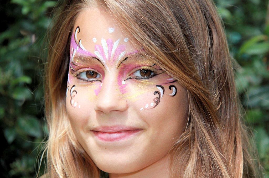Maquillage festif fille